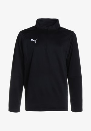 LIGA TRAINING ZIP  - Sports shirt - black/white