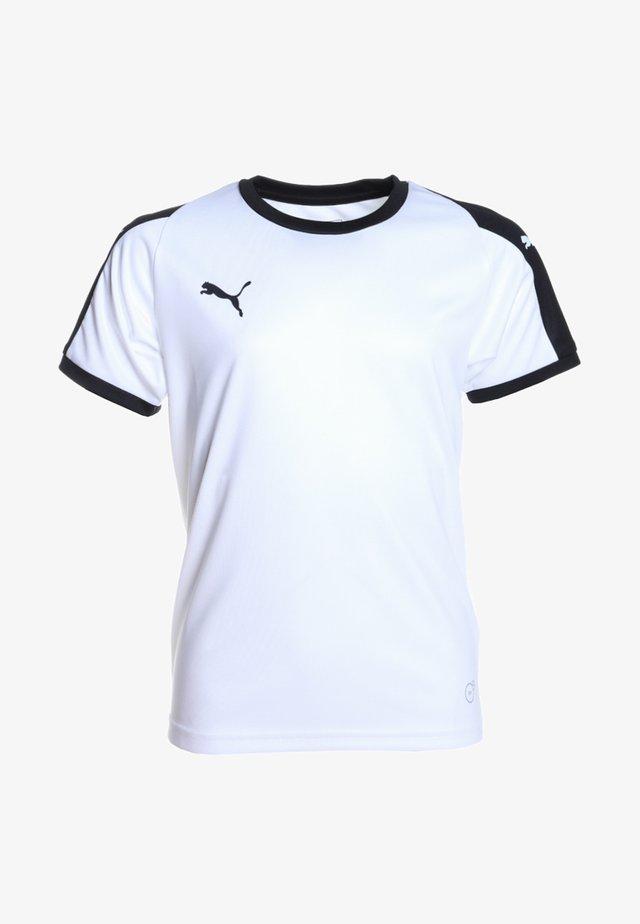 LIGA  - T-shirt de sport - white/black