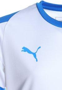 Puma - LIGA  - Sports shirt - white/electric blue - 2