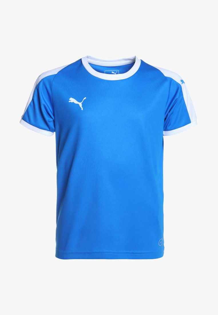 Puma - LIGA  - Sports shirt - electric blue lemonade/white