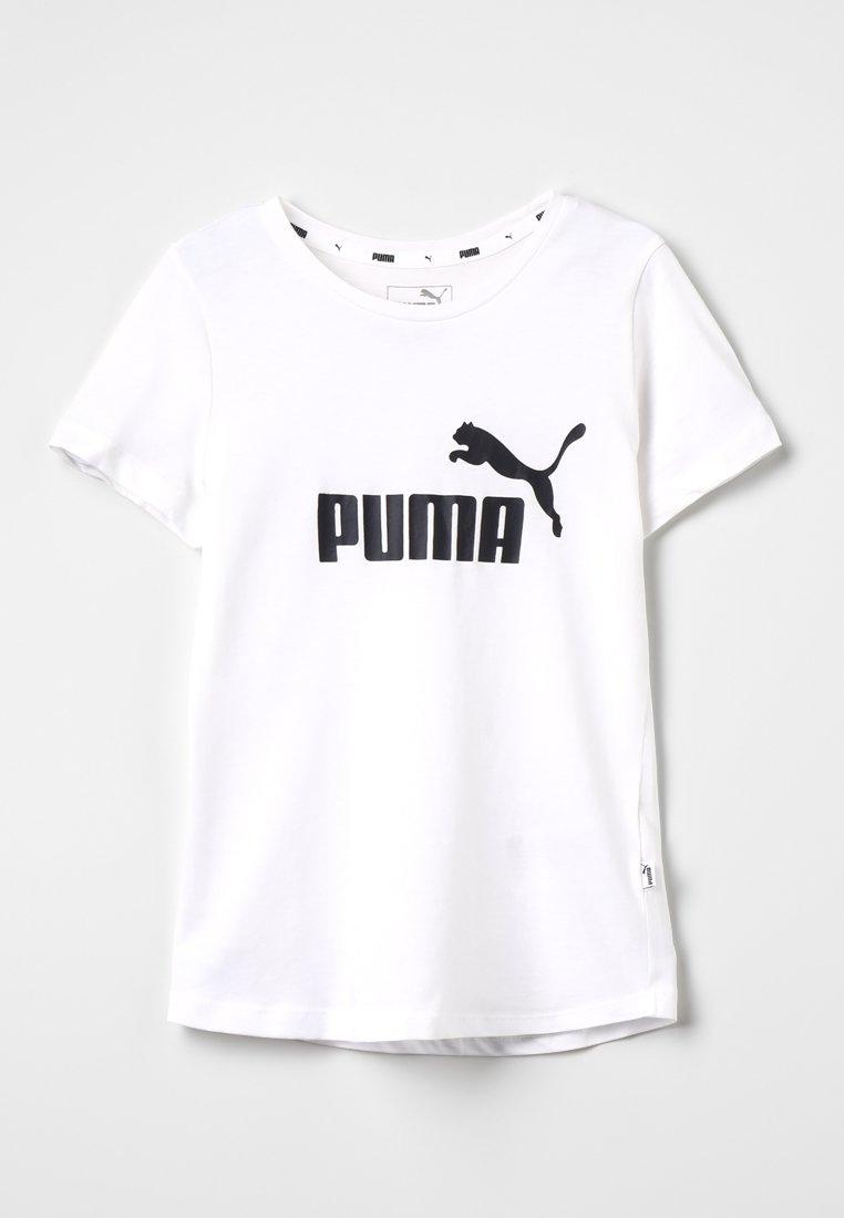 Puma - ESS TEE - T-shirts print - white