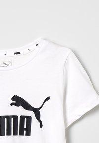 Puma - ESS TEE - T-shirt con stampa - white - 4