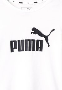 Puma - ESS TEE - T-shirt con stampa - white - 2