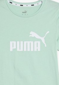 Puma - ESS TEE - T-shirt imprimé - mist green - 3