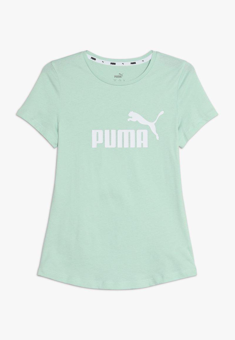 Puma - ESS TEE - T-shirt imprimé - mist green