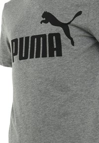 Puma - T-shirt imprimé - medium gray heather - 2