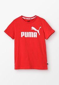 Puma - T-shirt imprimé - high risk red - 0