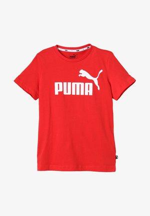 ESS LOGO TEE - T-Shirt print - high risk red