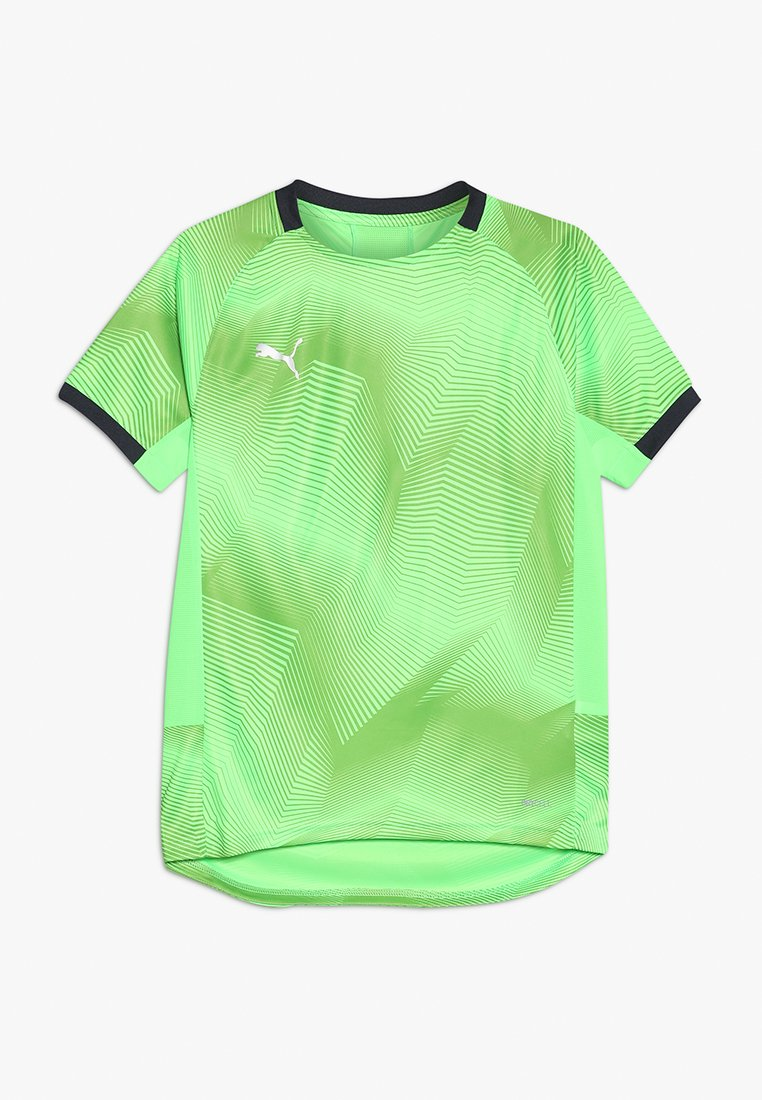 Puma - GRAPHIC  - Print T-shirt - green gecko/ebony