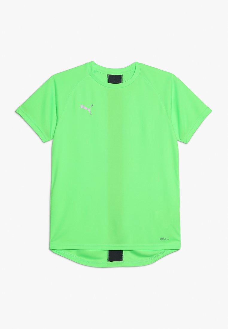 Puma - T-Shirt print - green gecko/ebony