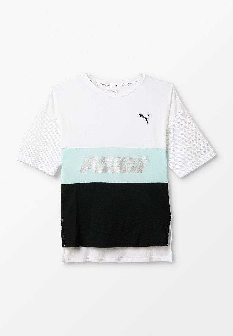 Puma - MODERN SPORTS BOYFRIEND TEE - T-shirt print - white