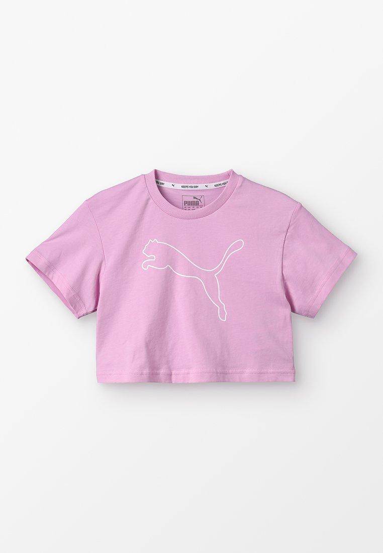 Puma - EVOSTRIPE TEE - Camiseta estampada - pale pink