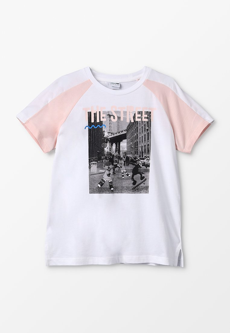 Puma - SESAME TEE  - Camiseta estampada - white
