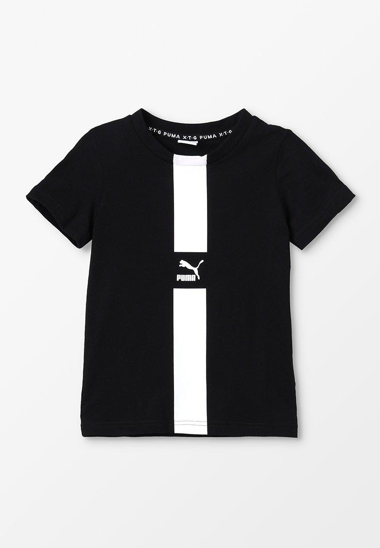 Puma - PUMA XTG TEE  - T-Shirt print - black
