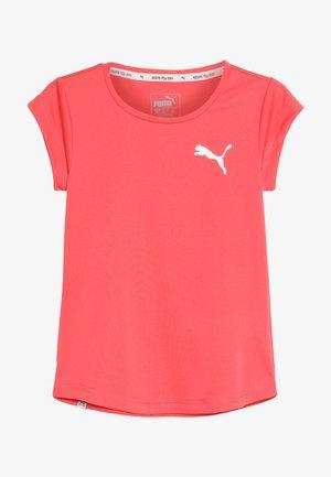 ACTIVE TEE - Basic T-shirt - calypso coral