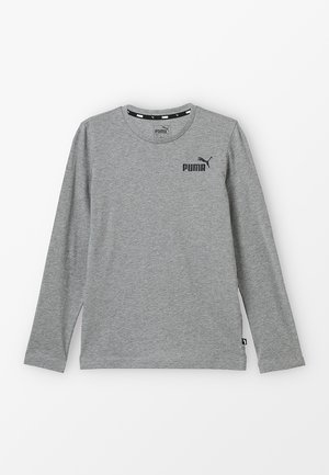 LOGO LONGSLEEVE  - T-shirt à manches longues - medium grey heather