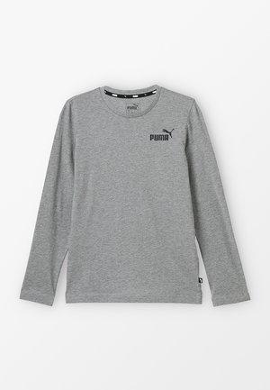 LOGO LONGSLEEVE  - Maglietta a manica lunga - medium grey heather