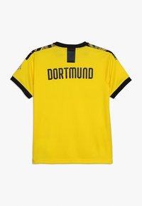Puma - BVB BORUSSIA DORTMUND HOME REPLICA WITH EVONIK LOGO - Fanartikel - cyber yellow/black - 1