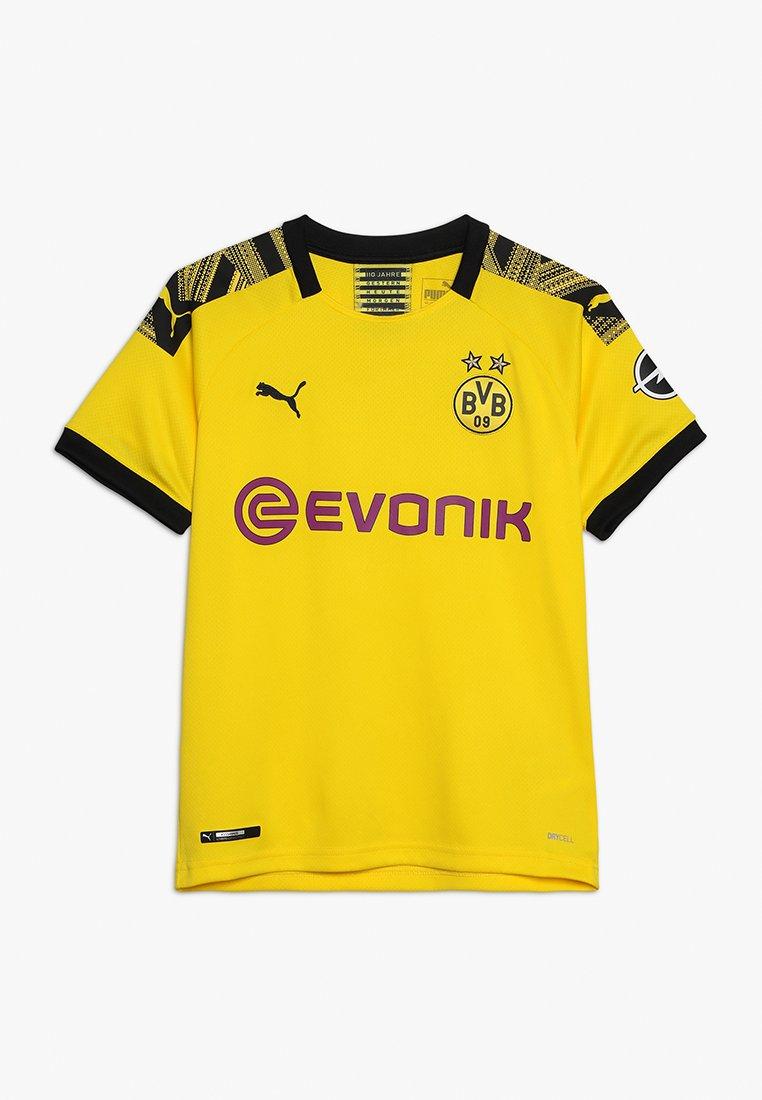 Puma - BVB BORUSSIA DORTMUND HOME REPLICA WITH EVONIK LOGO - Fanartikel - cyber yellow/black