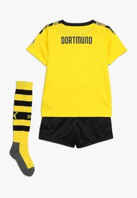 Puma - BVB BORUSSIA DORTMUND HOME MINIKIT WITH SOCKS WITH EVONIK LOGO SET - Article de supporter - cyber yellow/puma black - 1