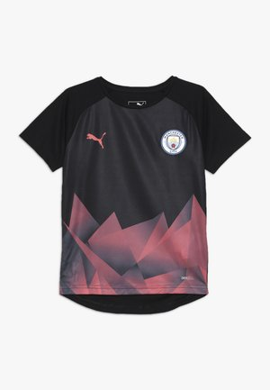 MANCHESTER CITY STADIUM INTERNATIONAL - Club wear - black/georgia peach