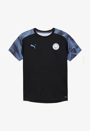 MANCHESTER CITY TRAINING - Club wear - puma black/team light blue
