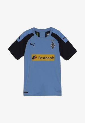 BORUSSIA MÖNCHENGLADBACH AWAY REPLICA WITH SPONSOR - Club wear - team light blue/peacoat