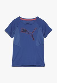 Puma - ACTIVE SPORTS TEE  - T-shirt con stampa - galaxy blue - 0