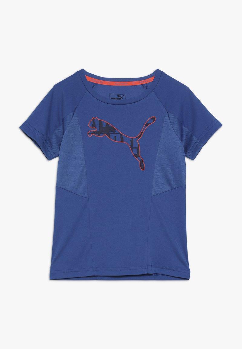 Puma - ACTIVE SPORTS TEE  - T-Shirt print - galaxy blue