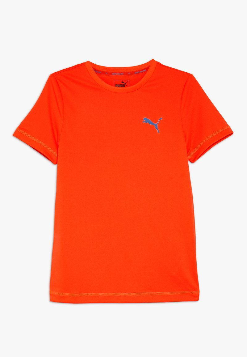 Puma - ACTIVE TEE  - T-Shirt print - red