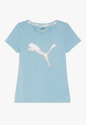 ACTIVE SPORTS TEE  - Print T-shirt - milky blue