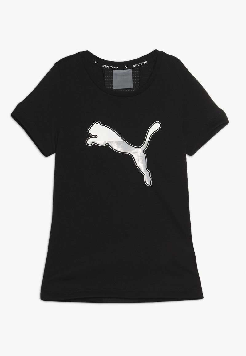 Puma - ACTIVE SPORTS TEE  - T-shirt con stampa - black