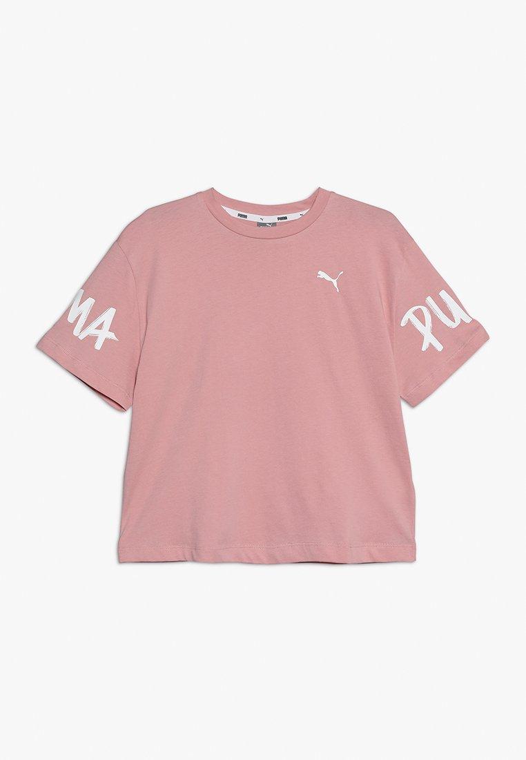 Puma - ALPHA TEE - Camiseta estampada - bridal rose