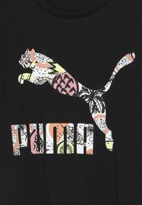 Puma - CLASSICS TEE - T-Shirt print - puma black - 4