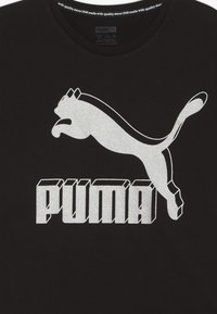 Puma - CLASSICS GRAPHIC TEE - T-shirt imprimé - black - 3