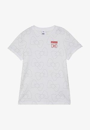 TEE - Printtipaita - white