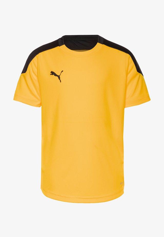T-shirts med print - ultra yellow/black
