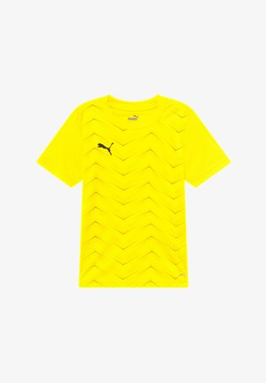 FTBLNXT GRAPHIC CORE - Triko s potiskem - ultra yellow/black