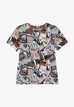 ALPHA TEE - T-shirt imprimé - white