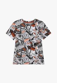 Puma - ALPHA TEE - T-shirt imprimé - white - 0