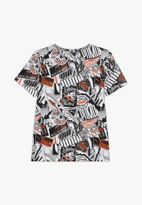 Puma - ALPHA TEE - T-shirt imprimé - white - 1