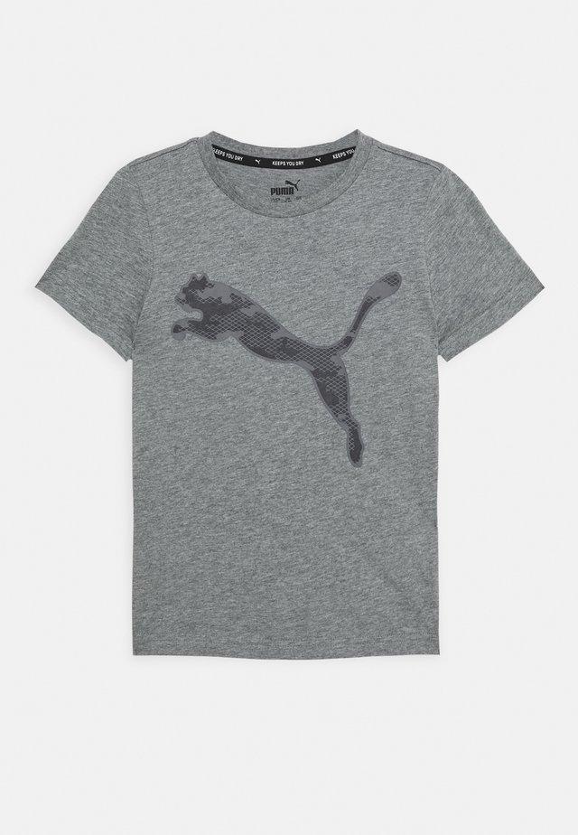 ACTIVE SPORTS GRAPHIC TEE - T-shirt imprimé - medium gray heather