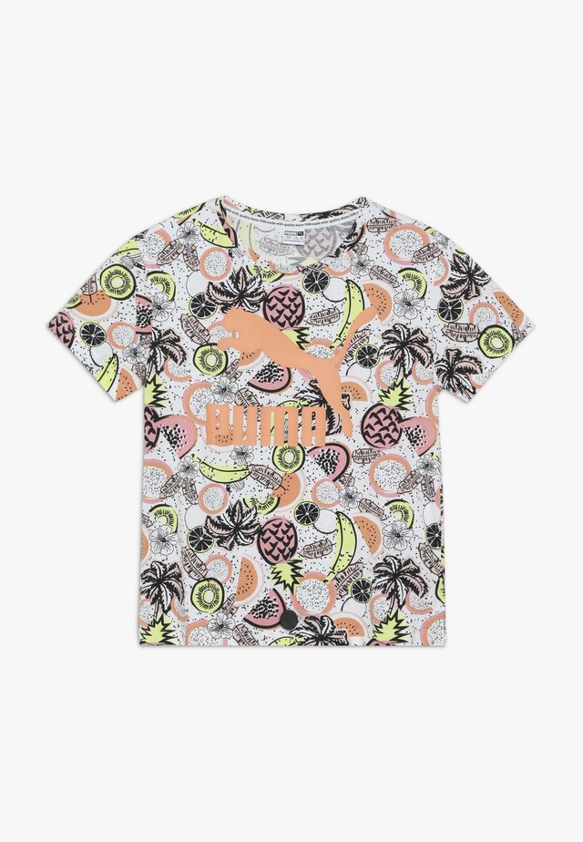 CLASSICS FRUIT TEE - T-Shirt print - white