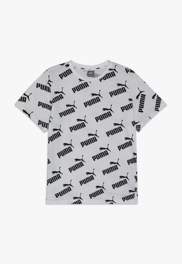 AMPLIFIED TEE - T-shirt imprimé - white