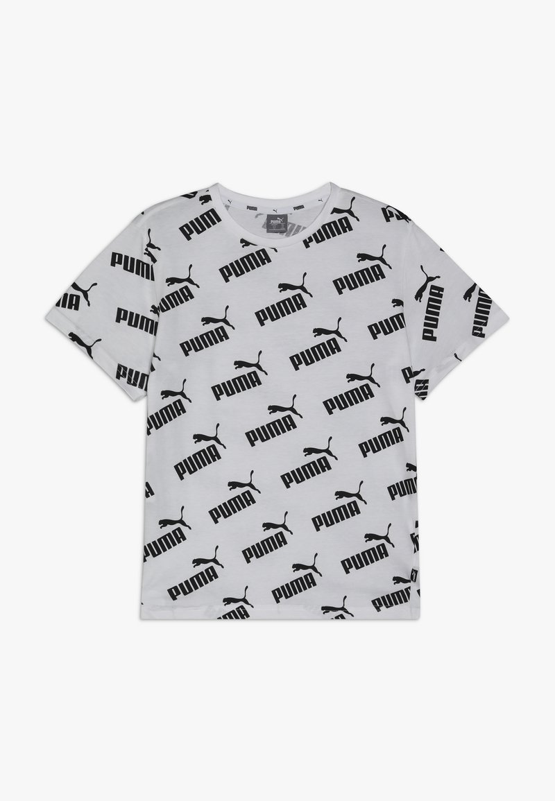 Puma - AMPLIFIED TEE - Camiseta estampada - white