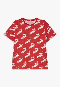 Puma - AMPLIFIED TEE - Camiseta estampada - high risk red - 0