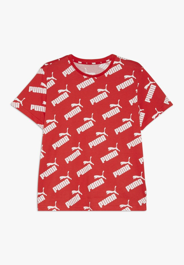 AMPLIFIED TEE - T-shirts print - high risk red