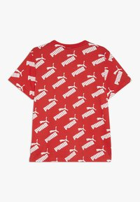 Puma - AMPLIFIED TEE - Camiseta estampada - high risk red - 1