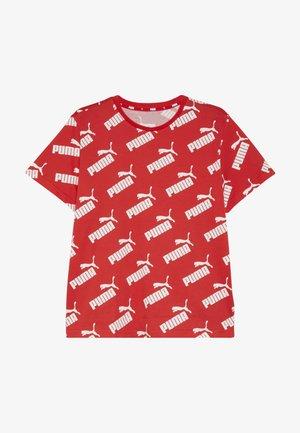 AMPLIFIED TEE - T-shirt imprimé - high risk red