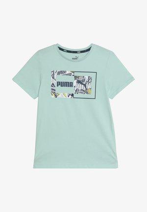 ALPHA GRAPHIC TEE - T-shirt z nadrukiem - mist green